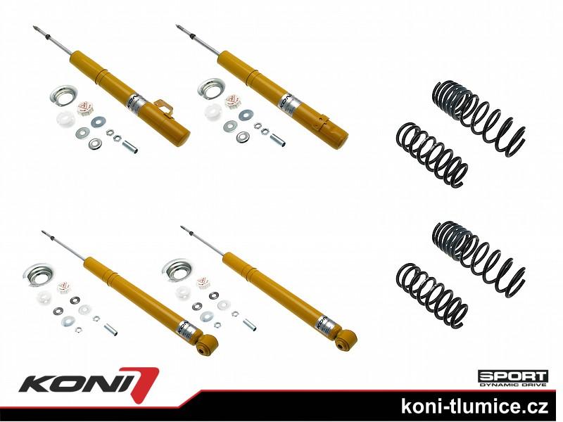 Koni podvozek Honda Accord sedan 2.0 rok 03-08 - 1140-2811 (4tlumiče+pružiny -35/-35mm)