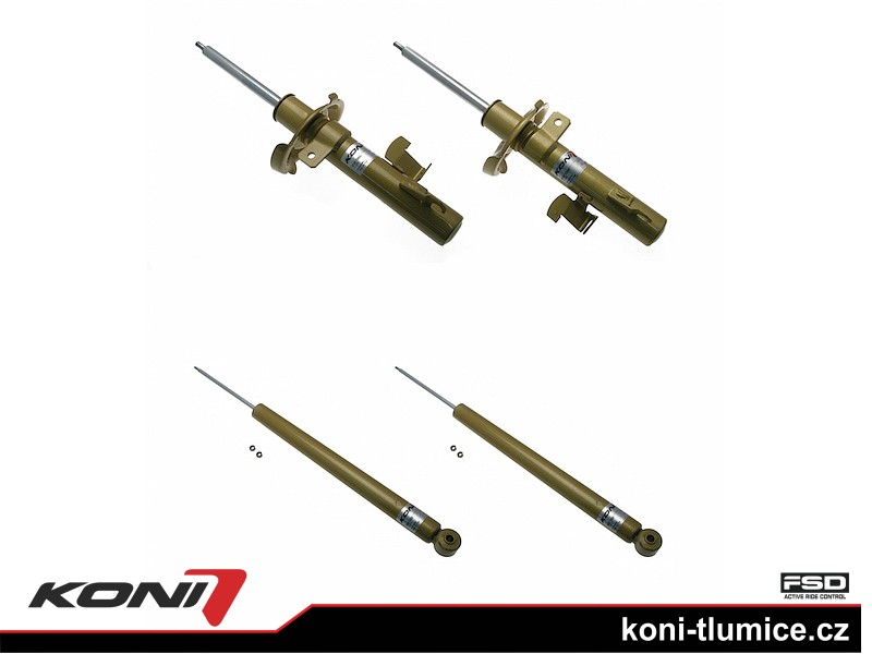 Koni tlumič FSD Ford Focus sedan rok 11.04-11 - 2100-4037