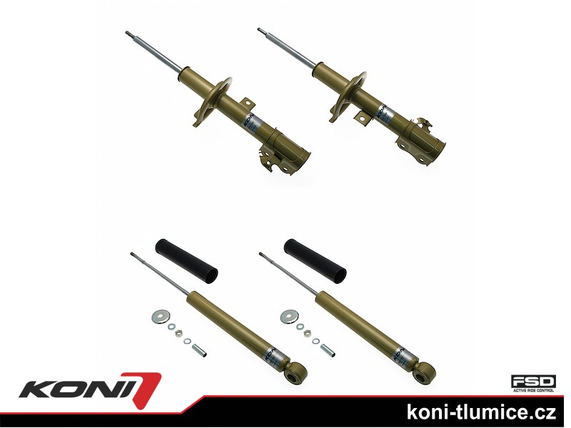 Koni tlumič FSD Opel Agila 1.0 rok 09.07-14 - 2100-4102